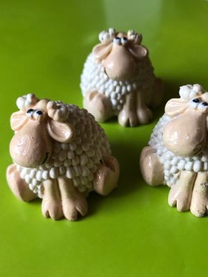 Small sheep candle