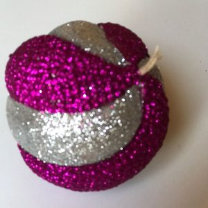 Two-color crown ball